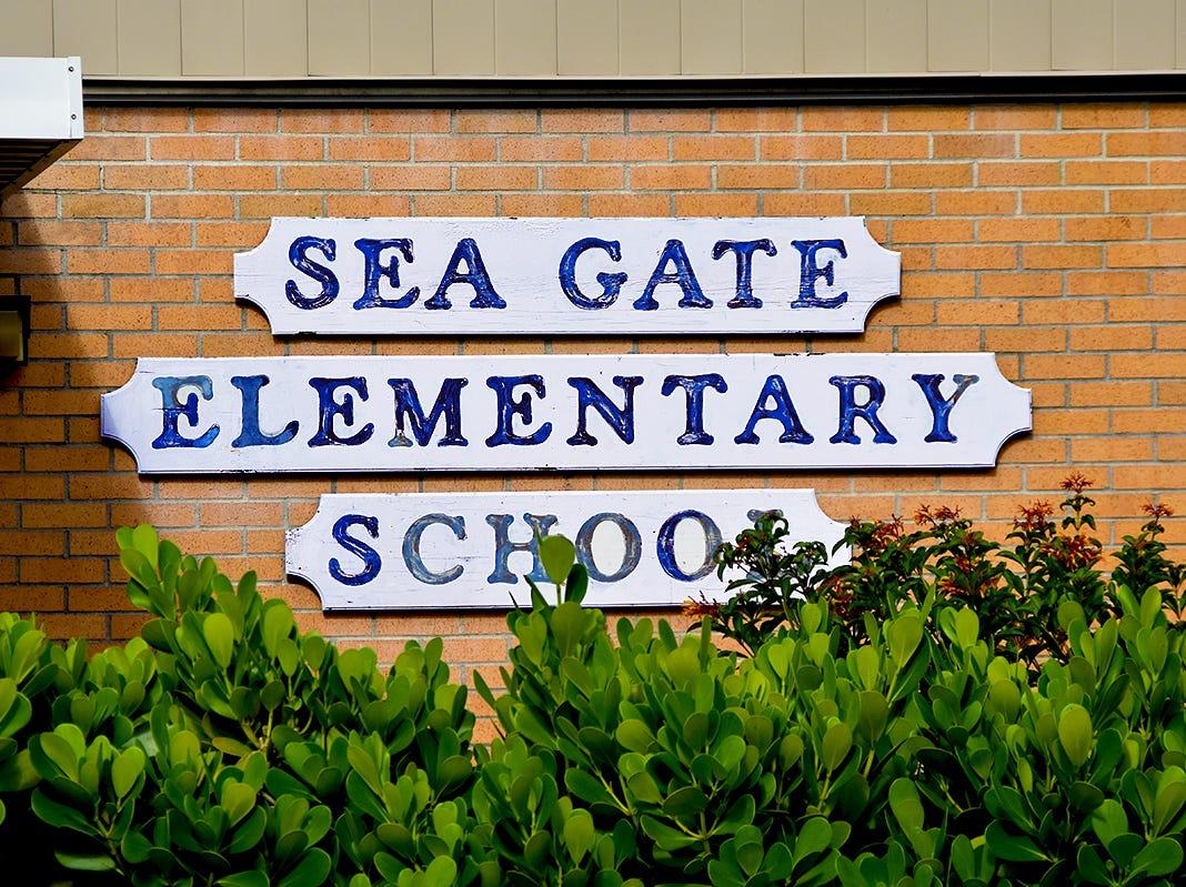 Sea Gate Elementary School.