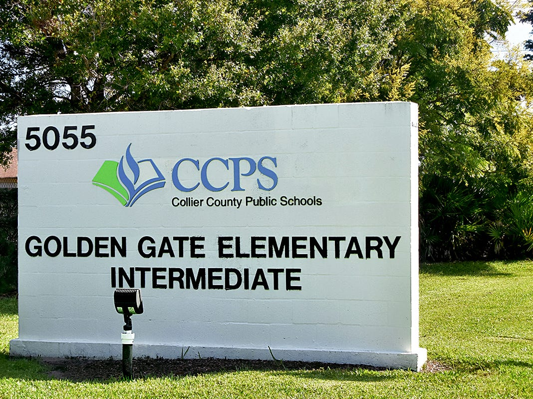 Golden Gate Elementary School.