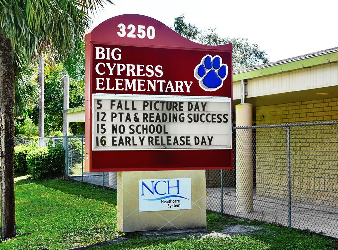 Big Cypress Elementary School.