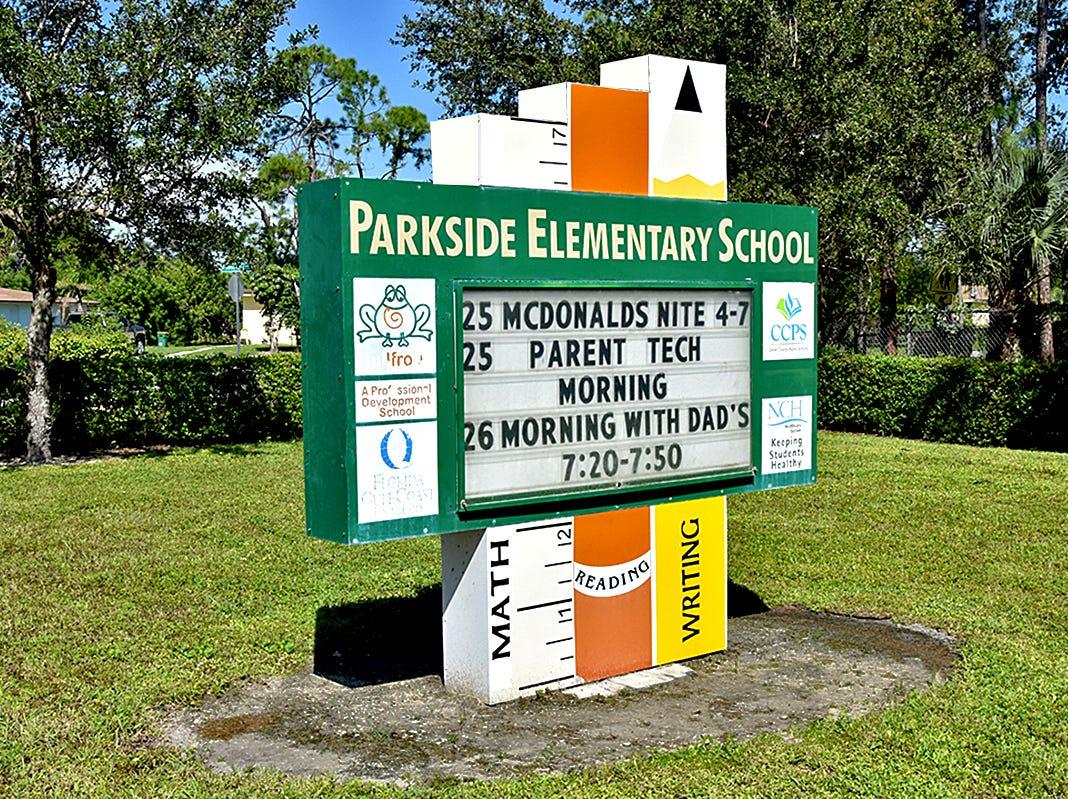 Parkside Elementary School.