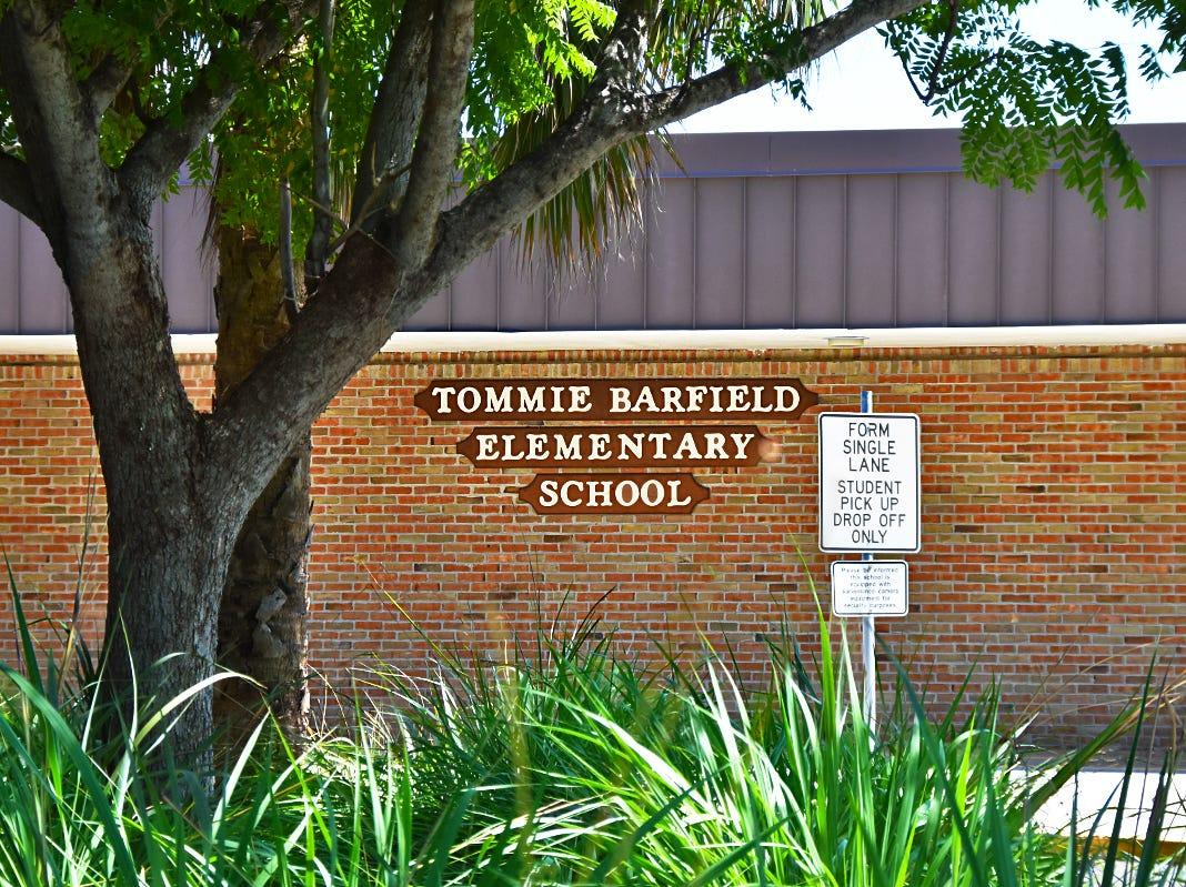 Tommie Barfield Elementary School.