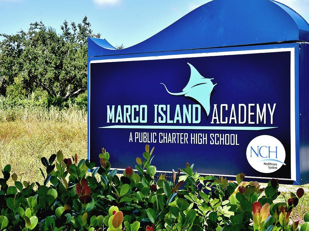 Marco Island Academy School.
