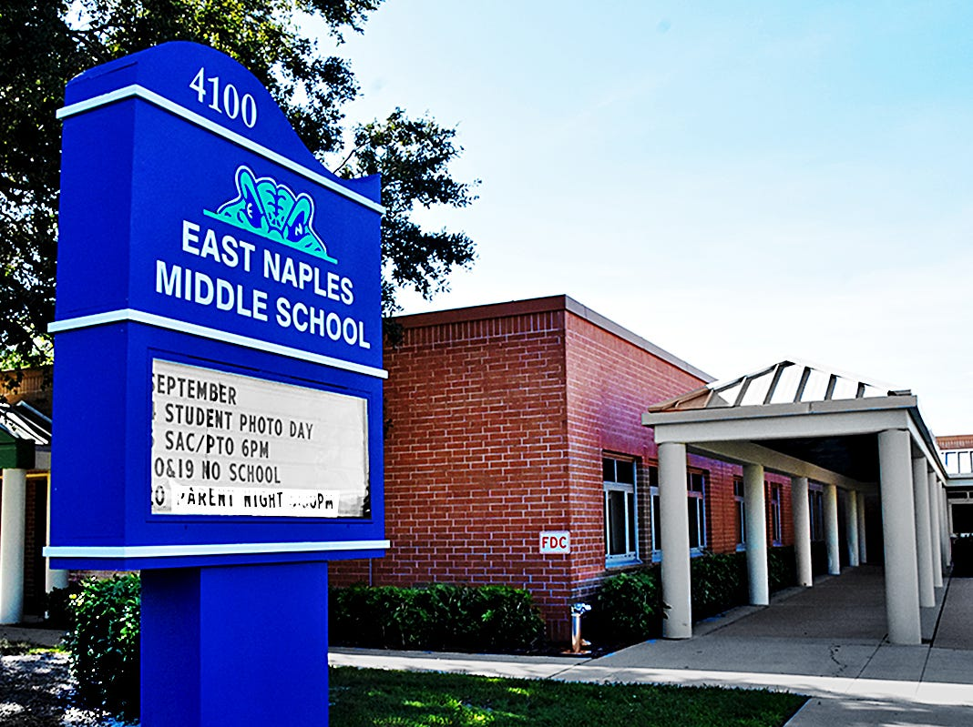East Naples Middle School.
