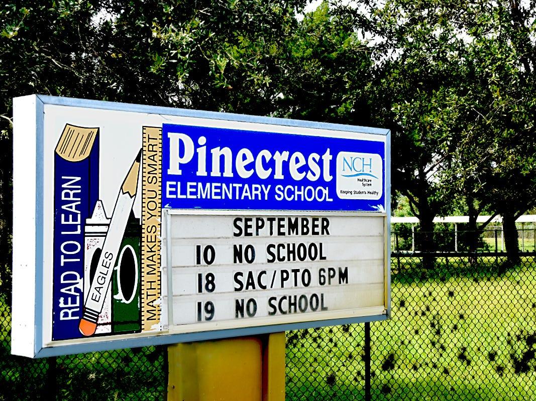 Pinecrest Elementary School.