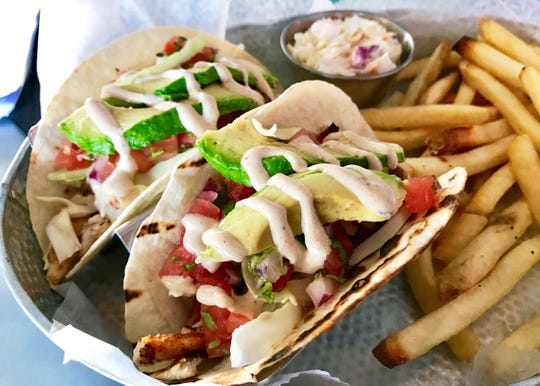 Chef Hector Hidalgo's famous tacos are on the menu at Naples Coastal Kitchen.