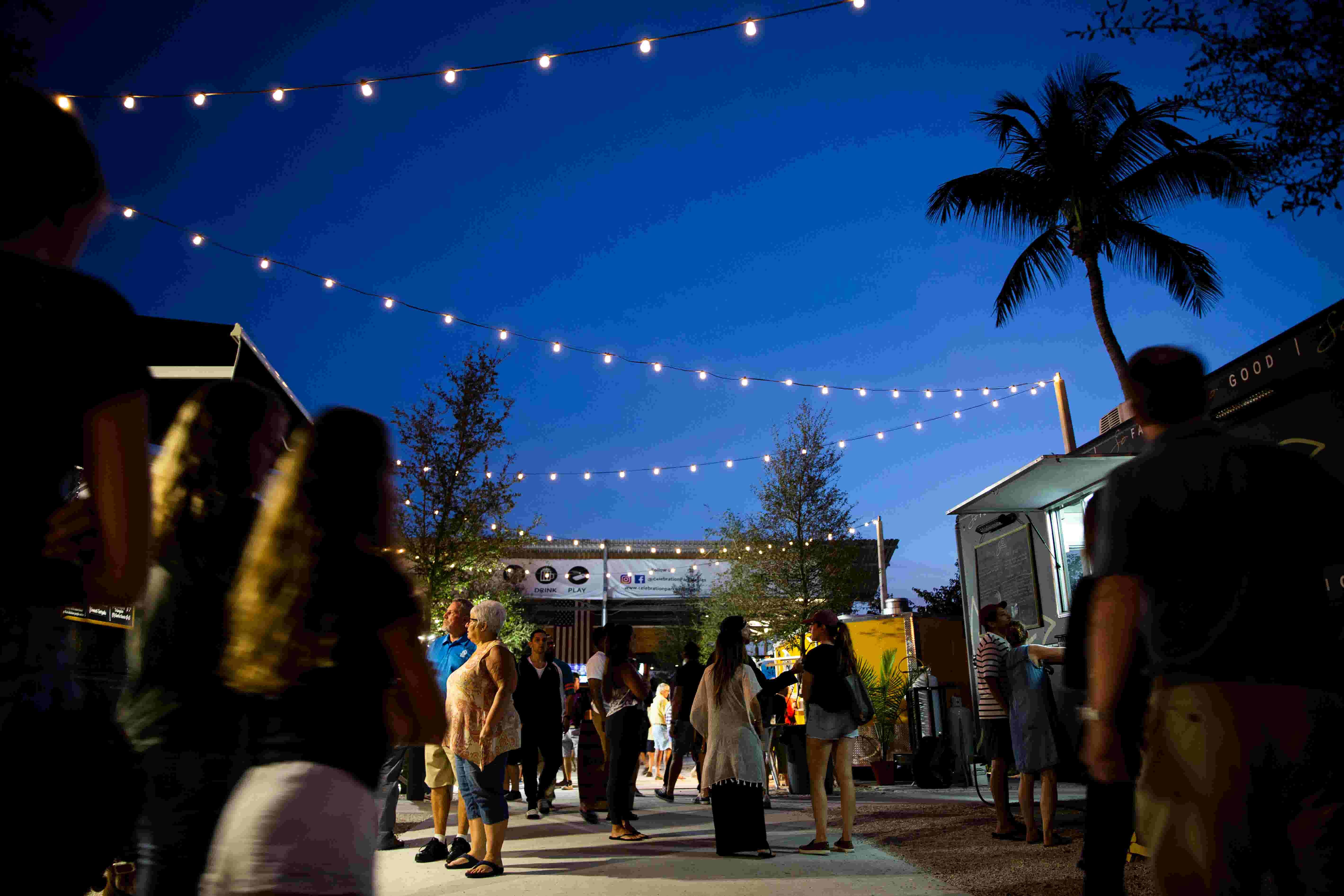 Video: Walk through Celebration Park's food trucks