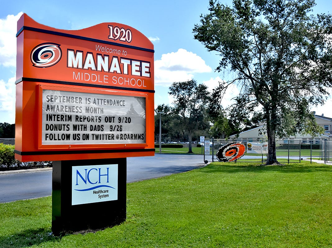 Manatee Middle School.