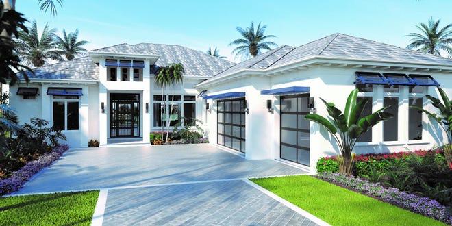 Peninsula Treviso Bay's coastal contemporary and move-in ready Abaco model.