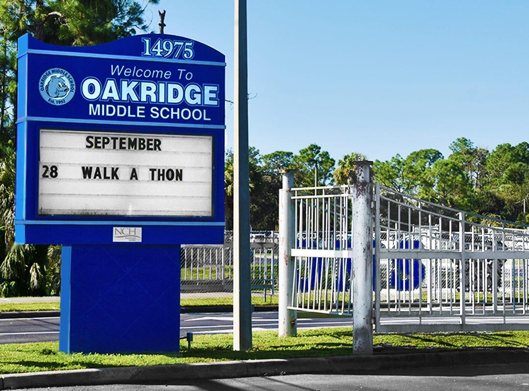 Oakridge Middle School.