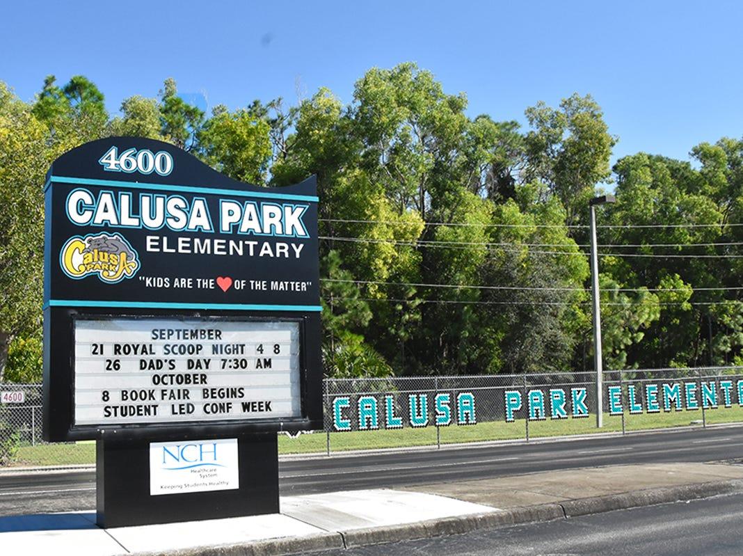 Calusa Park Elementary School.