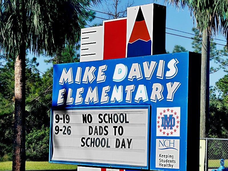 Mike Davis Elementary School.