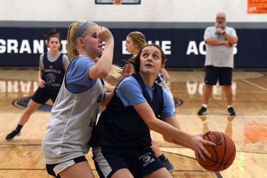 Granville Girls Basketball Practice