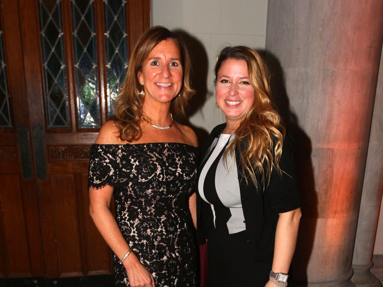 Ellen Gifford; Lauren Mark. Wyckoff Family YMCA hosted its 75th anniversary gala to celebrate its benefactors, held at the Rio Vista seminary in Mahwah. 11/16/2018
