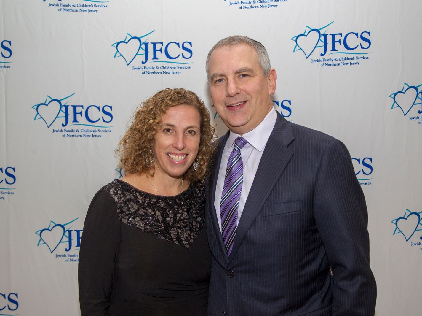 Robbie and Adam Freed. Jewish Family & Children's Services of Northern New Jersey held its annual gala at the Edgewood Country Club in River Vale. The evening honored Shira Feuerstein, Jayne Petak, and Alan Scharfstein for their leadership, support, and dedication. 11/18/2018