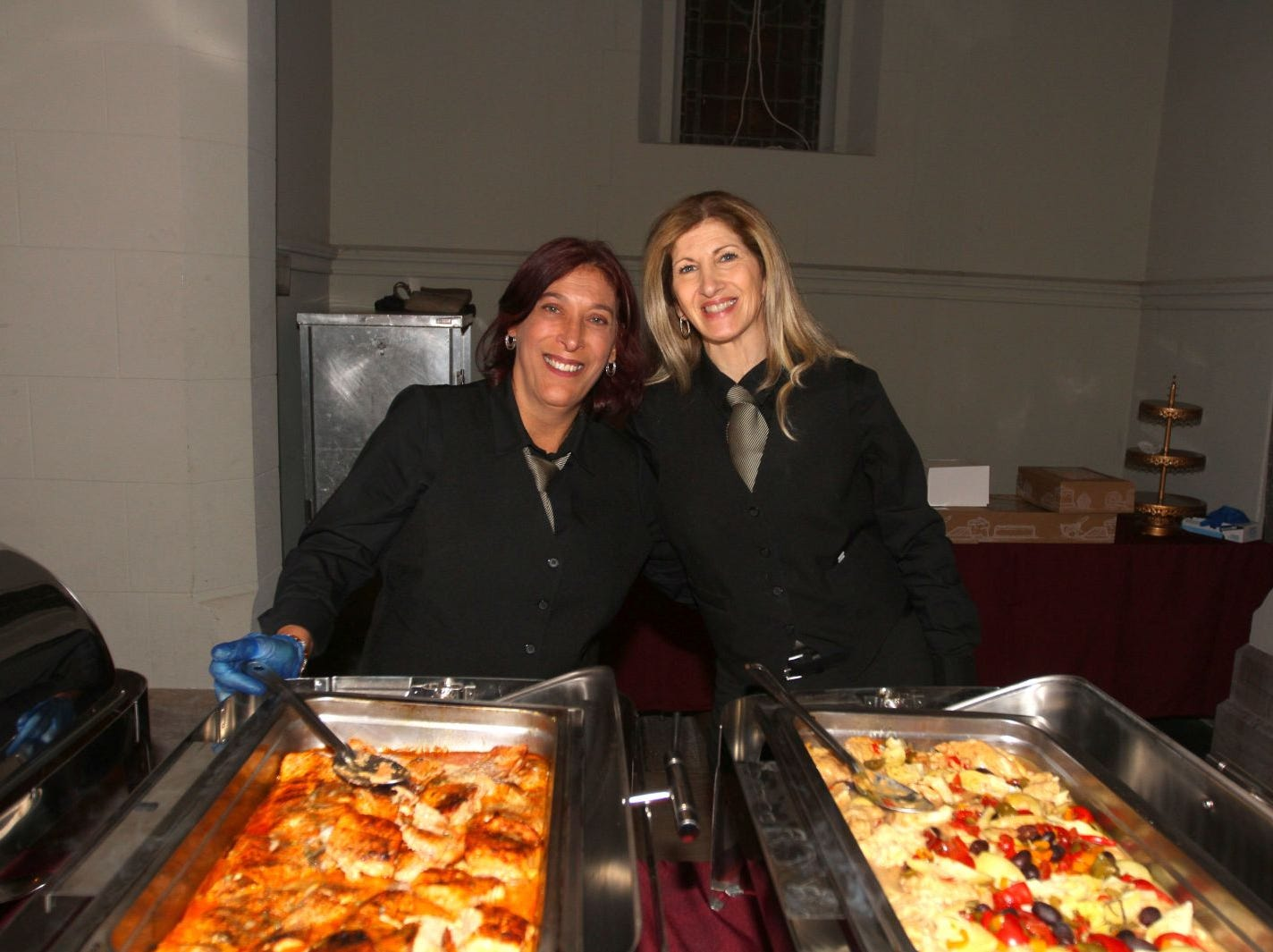 Sandra and Toni (Foodtown). Wyckoff Family YMCA hosted its 75th anniversary gala to celebrate its benefactors, held at the Rio Vista seminary in Mahwah. 11/16/2018