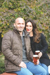 Chris and Bianca Froelich, two of the owners of Soma Brewing Company in Maplewood
