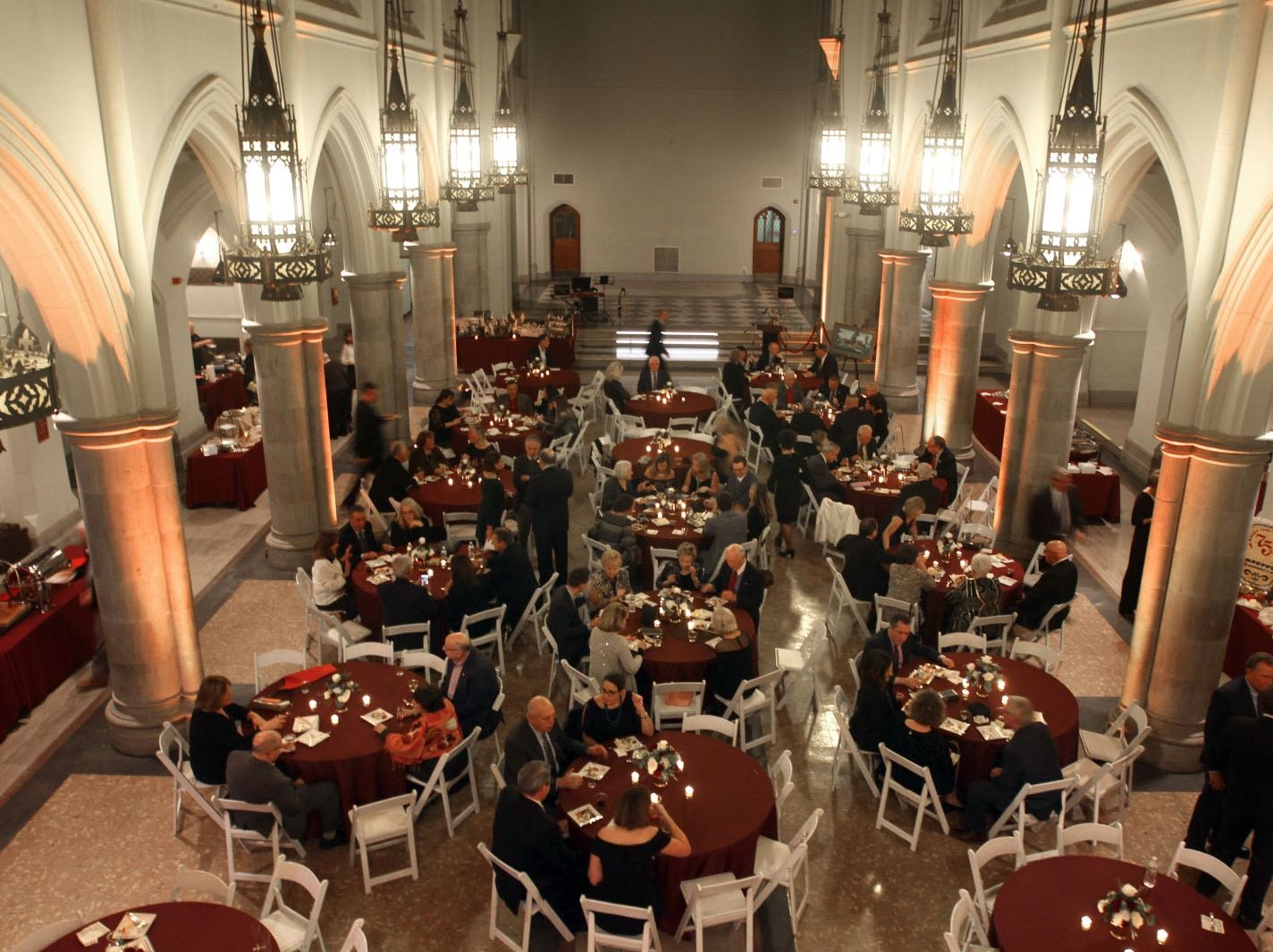 Wyckoff Family YMCA hosted its 75th anniversary gala to celebrate its benefactors, held at the Rio Vista seminary in Mahwah. 11/16/2018