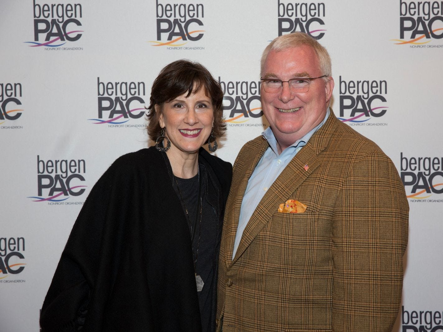 Wendy and Mike Bain. BergenPAC held its annual fall gala featuring John Fogerty in Englewood. This year's honoree was Fernando Garip, from Wilmington Trust and M&T Bank. 11/08/2018