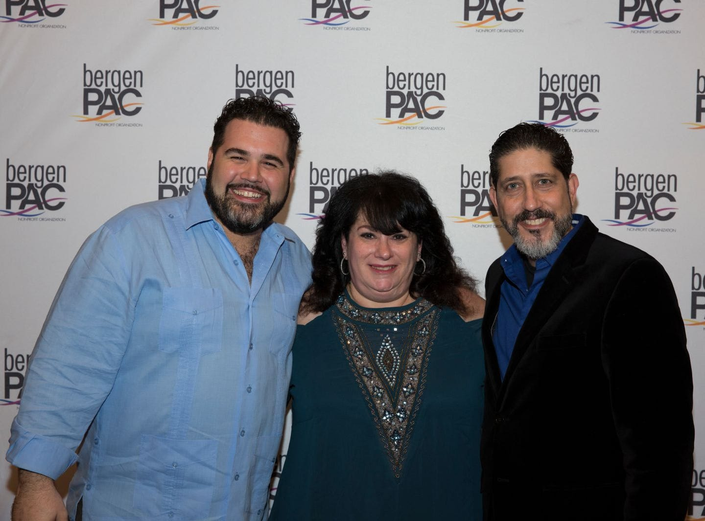 Alex Diaz, Arlene Grunfeld, Mark Quilez. BergenPAC held its annual fall gala featuring John Fogerty in Englewood. This year's honoree was Fernando Garip, from Wilmington Trust and M&T Bank. 11/08/2018