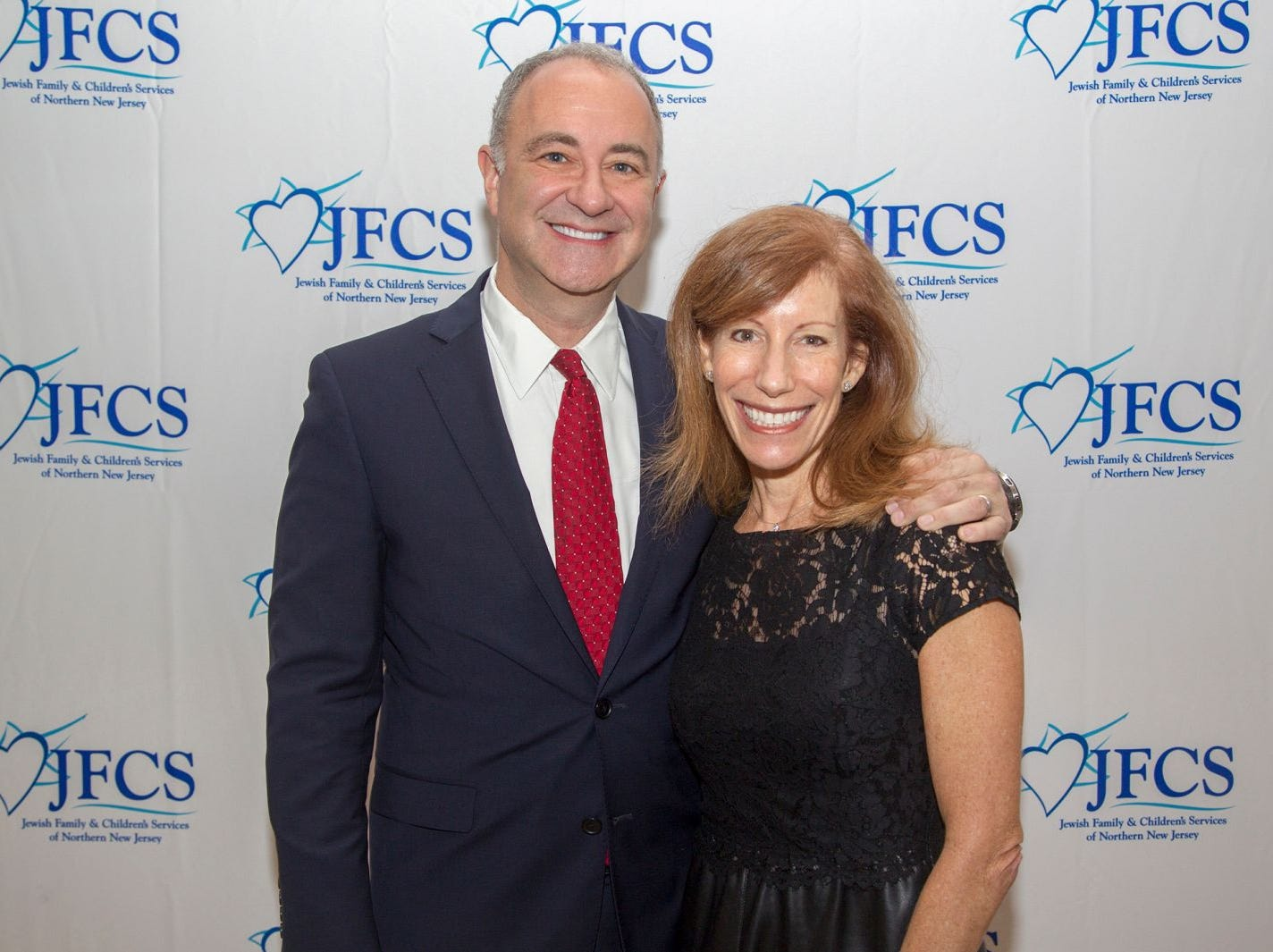 Deborah and Gary Glasser. Jewish Family & Children's Services of Northern New Jersey held its annual gala at the Edgewood Country Club in River Vale. The evening honored Shira Feuerstein, Jayne Petak, and Alan Scharfstein for their leadership, support, and dedication. 11/18/2018