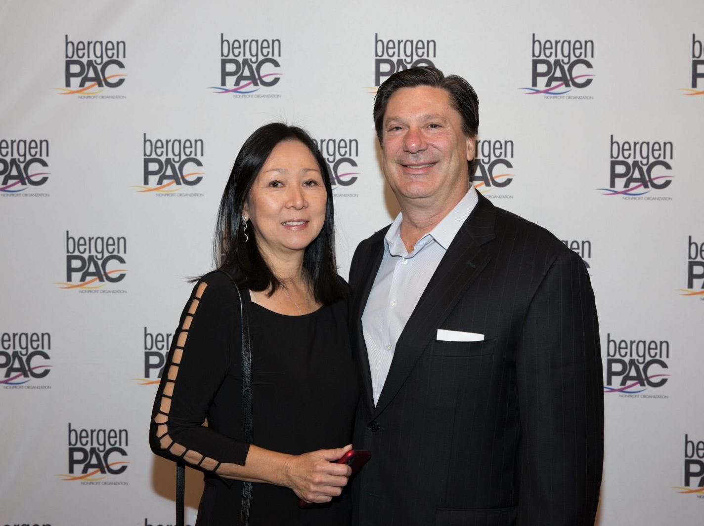 Edmondo and Miyako Schwartz. BergenPAC held its annual fall gala featuring John Fogerty in Englewood. This year's honoree was Fernando Garip, from Wilmington Trust and M&T Bank. 11/08/2018