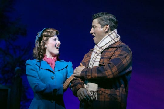 """Irving Berlin's Holiday Inn"" at Paper Mill Playhouse: Hayley Podschun, Nicholas Rodriguez"
