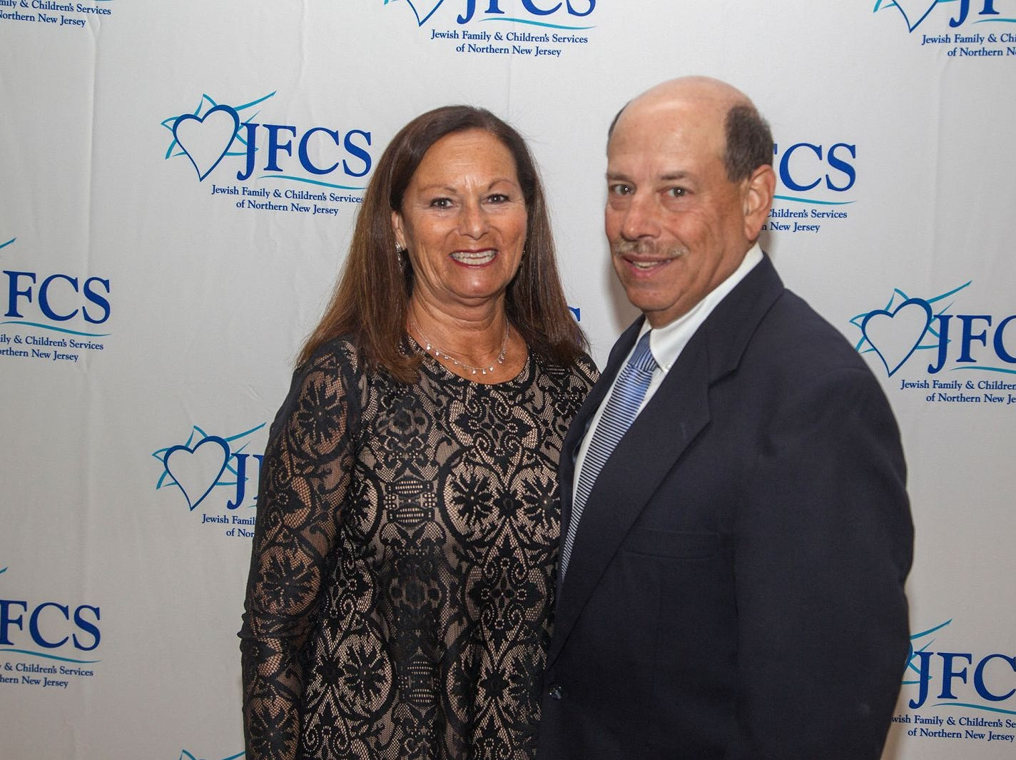 Laurie and Barry Goldman. Jewish Family & Children's Services of Northern New Jersey held its annual gala at the Edgewood Country Club in River Vale. The evening honored Shira Feuerstein, Jayne Petak, and Alan Scharfstein for their leadership, support, and dedication. 11/18/2018