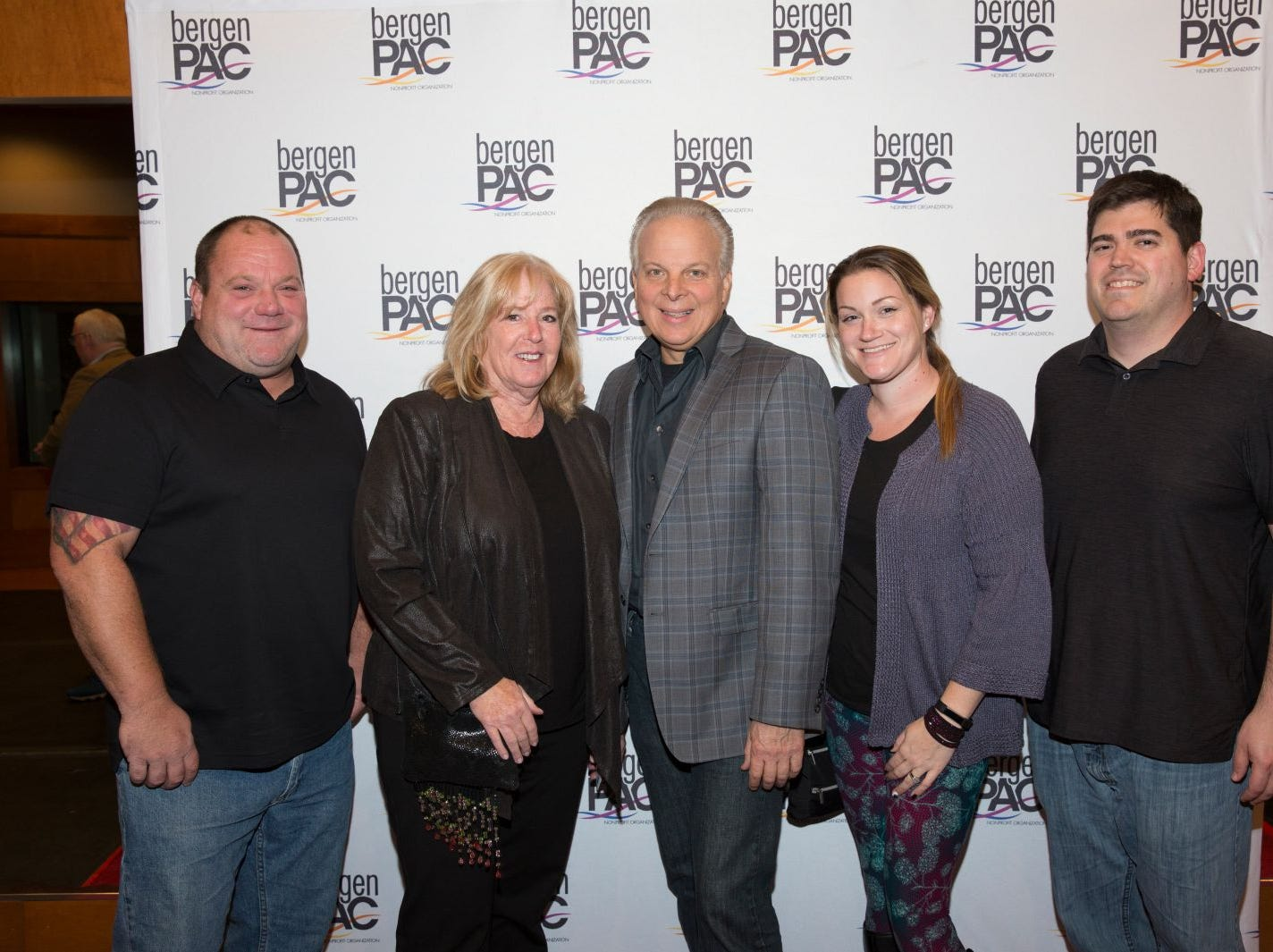 Brian Taylor, Lisa and Rick Garafola, Chrissy and Sean Wefers. BergenPAC held its annual fall gala featuring John Fogerty in Englewood. This year's honoree was Fernando Garip, from Wilmington Trust and M&T Bank. 11/08/2018