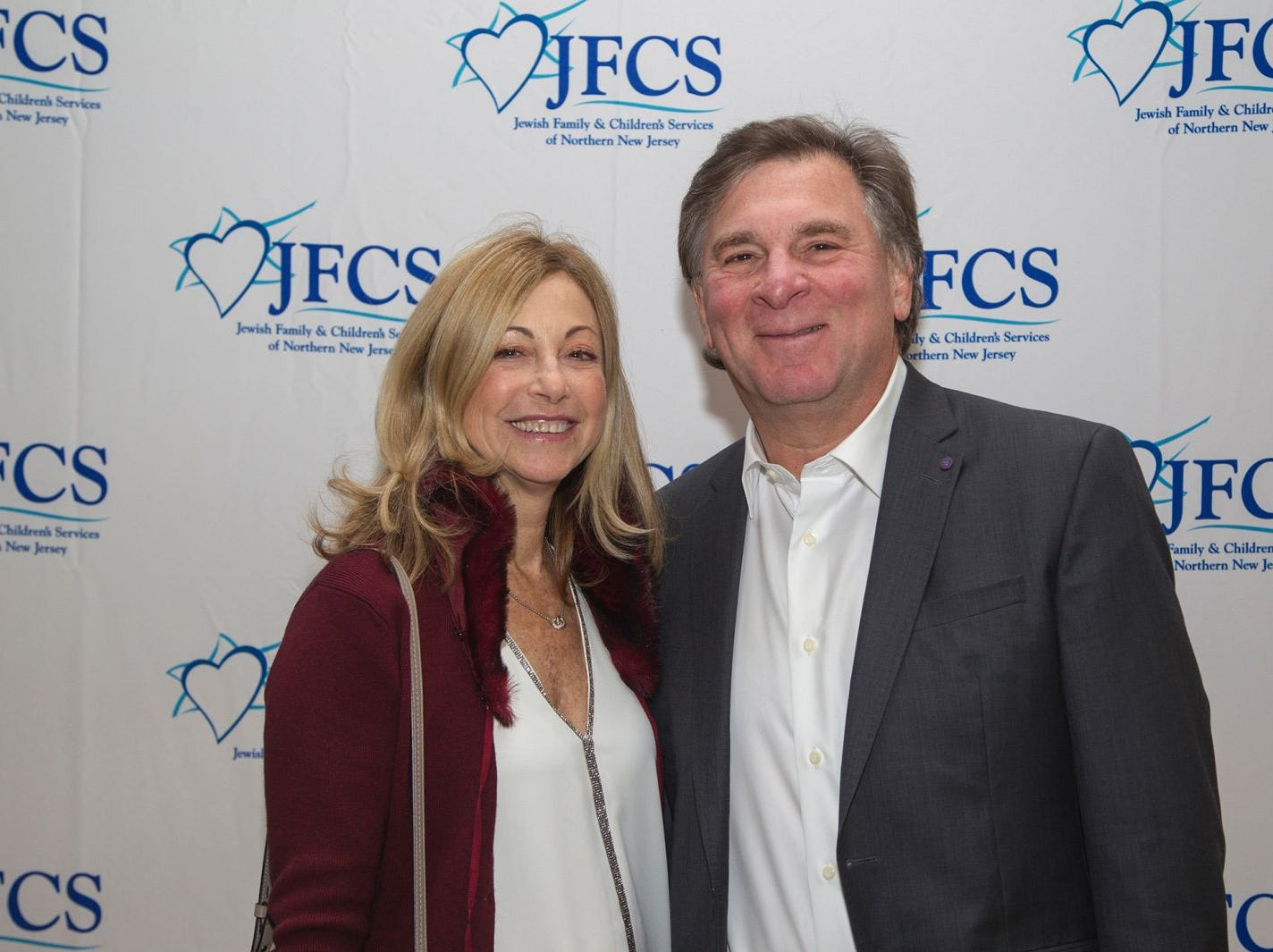 Debra Borden and David Nyman. Jewish Family & Children's Services of Northern New Jersey held its annual gala at the Edgewood Country Club in River Vale. The evening honored Shira Feuerstein, Jayne Petak, and Alan Scharfstein for their leadership, support, and dedication. 11/18/2018