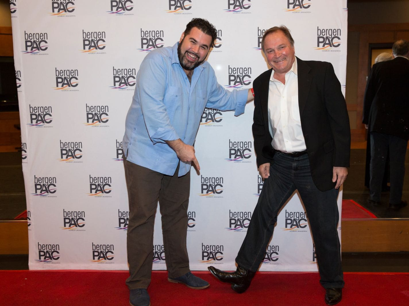 Alex Diaz, Dominic Roncace. BergenPAC held its annual fall gala featuring John Fogerty in Englewood. This year's honoree was Fernando Garip, from Wilmington Trust and M&T Bank. 11/08/2018