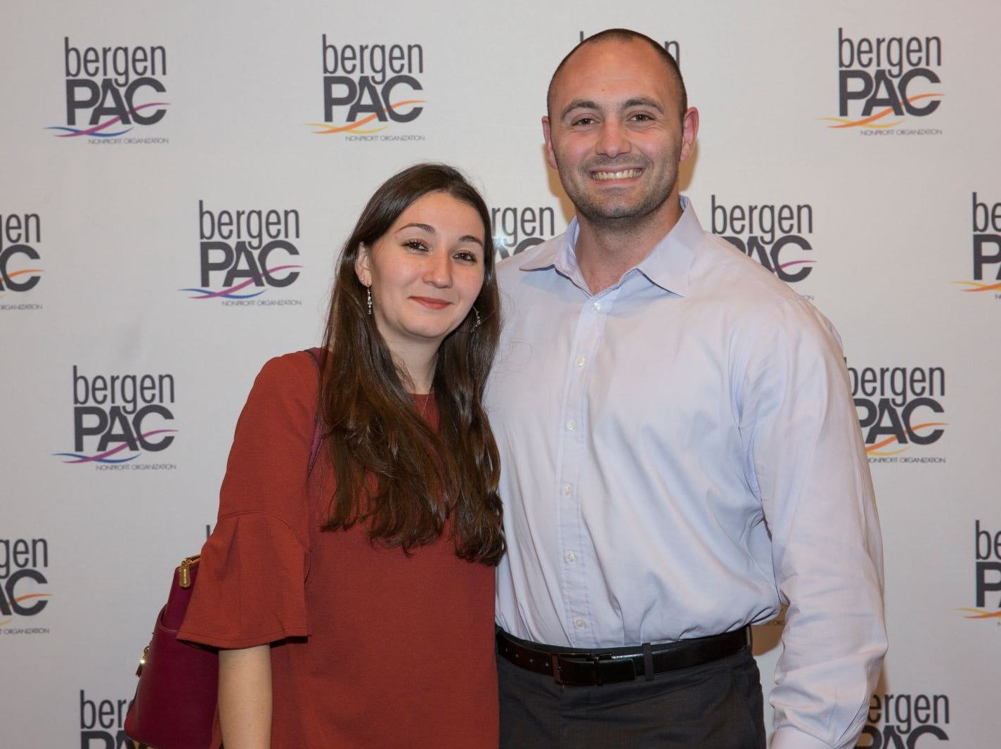 Kaitlin DeLuccia, Fernando Garip III. BergenPAC held its annual fall gala featuring John Fogerty in Englewood. This year's honoree was Fernando Garip, from Wilmington Trust and M&T Bank. 11/08/2018