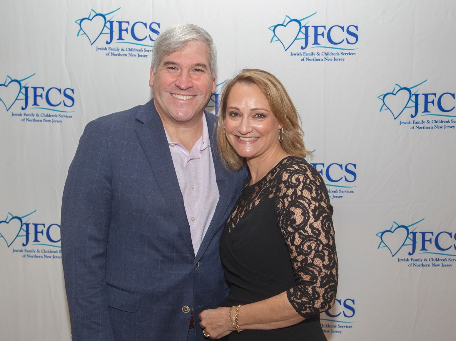 Debbie and Mickey Harris. Jewish Family & Children's Services of Northern New Jersey held its annual gala at the Edgewood Country Club in River Vale. The evening honored Shira Feuerstein, Jayne Petak, and Alan Scharfstein for their leadership, support, and dedication. 11/18/2018