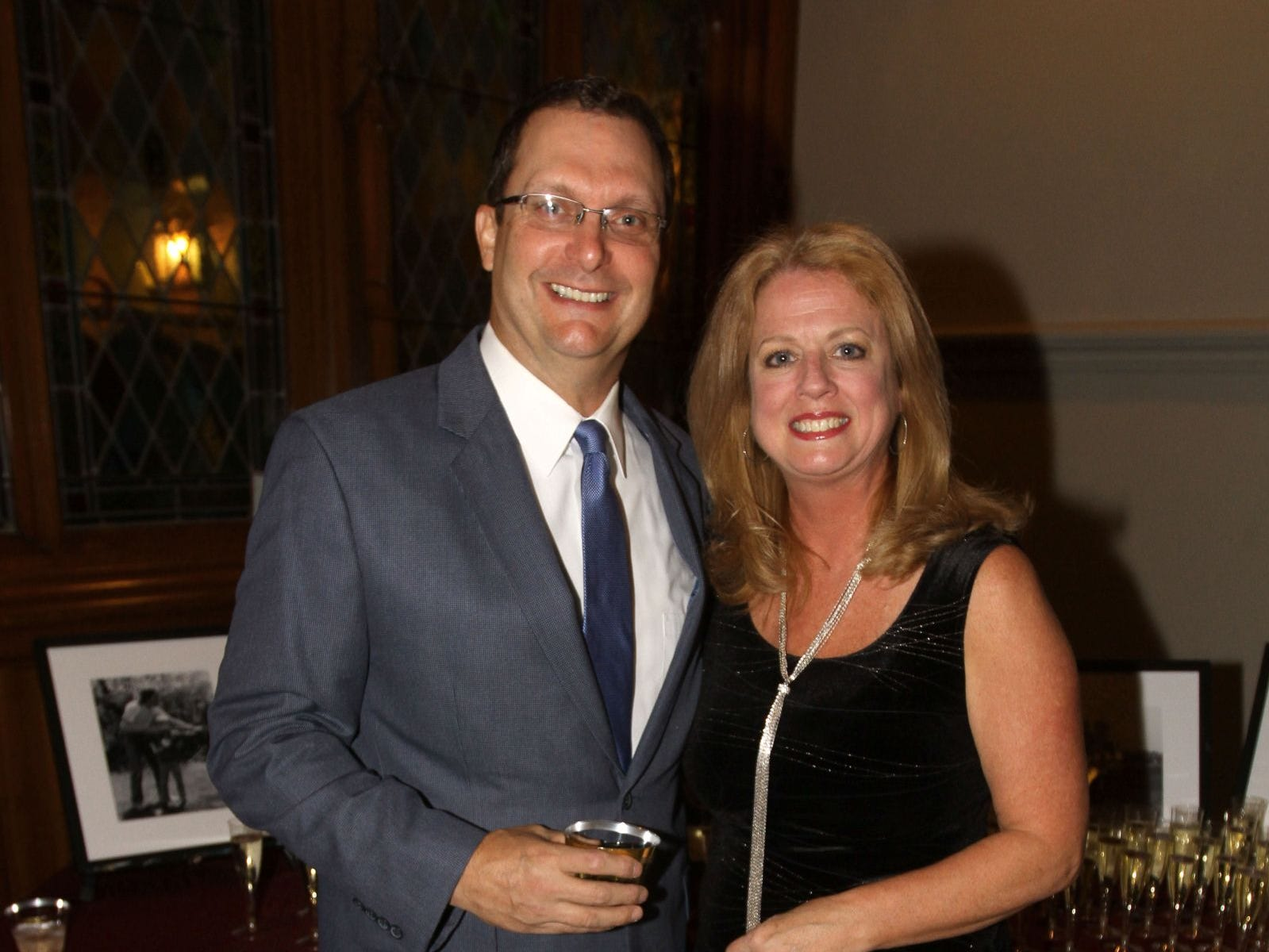 Mike Finucane; Patty Karsian. Wyckoff Family YMCA hosted its 75th anniversary gala to celebrate its benefactors, held at the Rio Vista seminary in Mahwah. 11/16/2018
