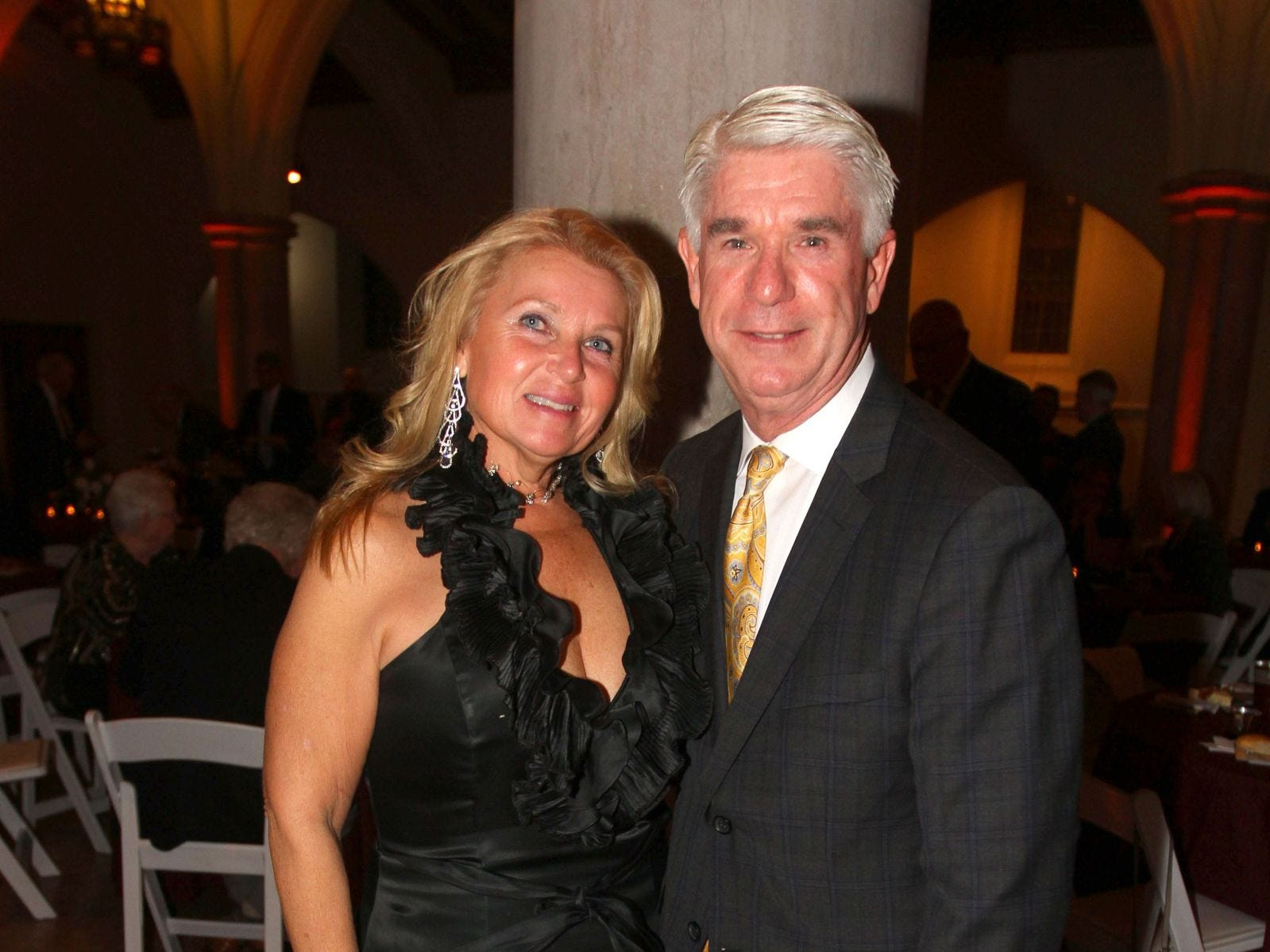 Hayley Rooney; Assemblyman Kevin Rooney. Wyckoff Family YMCA hosted its 75th anniversary gala to celebrate its benefactors, held at the Rio Vista seminary in Mahwah. 11/16/2018
