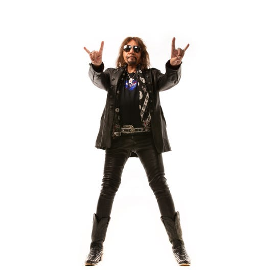 "Ace Frehley's latest solo effort, ""Spaceman,"" was released in October."