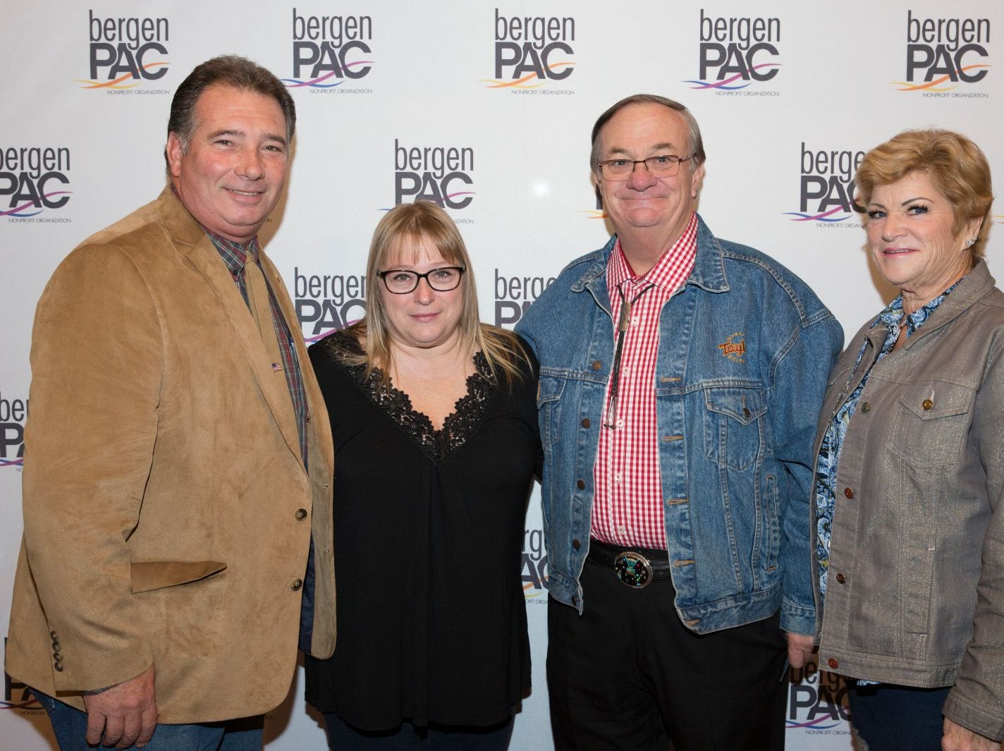 David and Susan Hollaneck, Rich and Aleta Taylor. BergenPAC held its annual fall gala featuring John Fogerty in Englewood. This year's honoree was Fernando Garip, from Wilmington Trust and M&T Bank. 11/08/2018