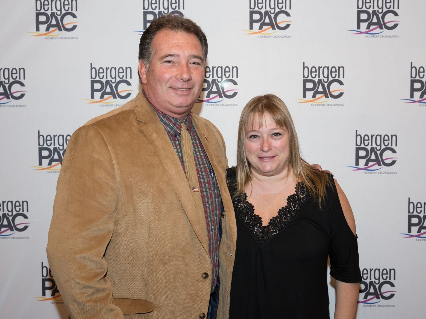 David and Susan Hollanbeck. BergenPAC held its annual fall gala featuring John Fogerty in Englewood. This year's honoree was Fernando Garip, from Wilmington Trust and M&T Bank. 11/08/2018