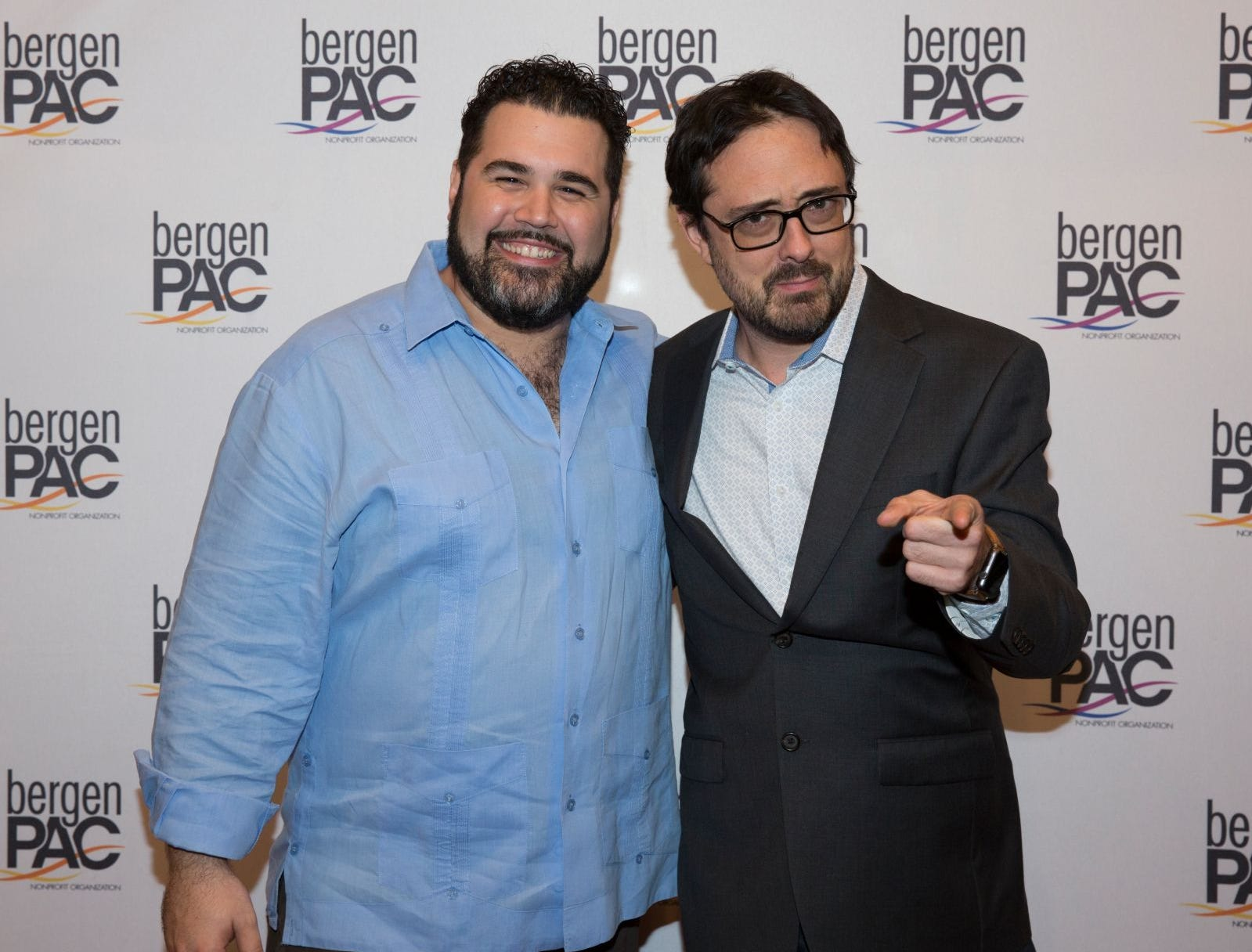 Alex Diaz, Cory Ness. BergenPAC held its annual fall gala featuring John Fogerty in Englewood. This year's honoree was Fernando Garip, from Wilmington Trust and M&T Bank. 11/08/2018