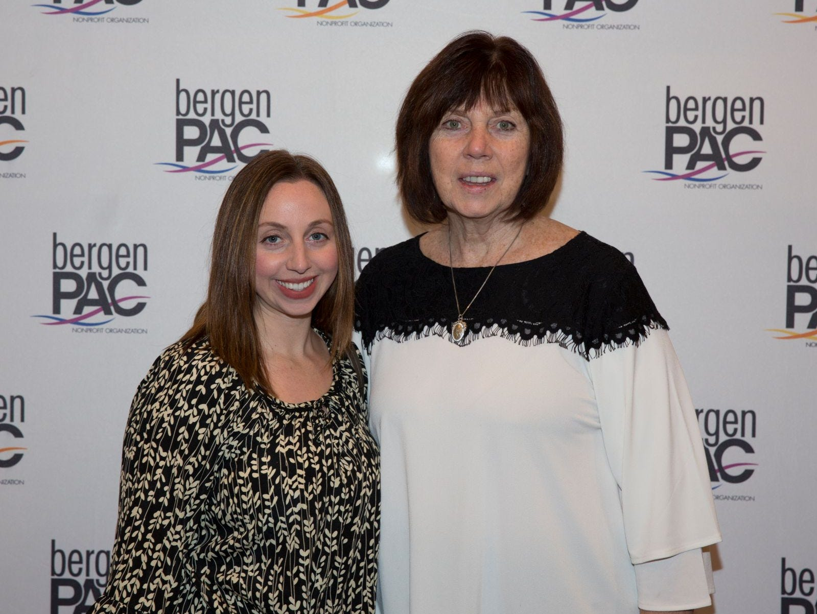 Regina Speilberg, Jessica Woodbridge. BergenPAC held its annual fall gala featuring John Fogerty in Englewood. This year's honoree was Fernando Garip, from Wilmington Trust and M&T Bank. 11/08/2018