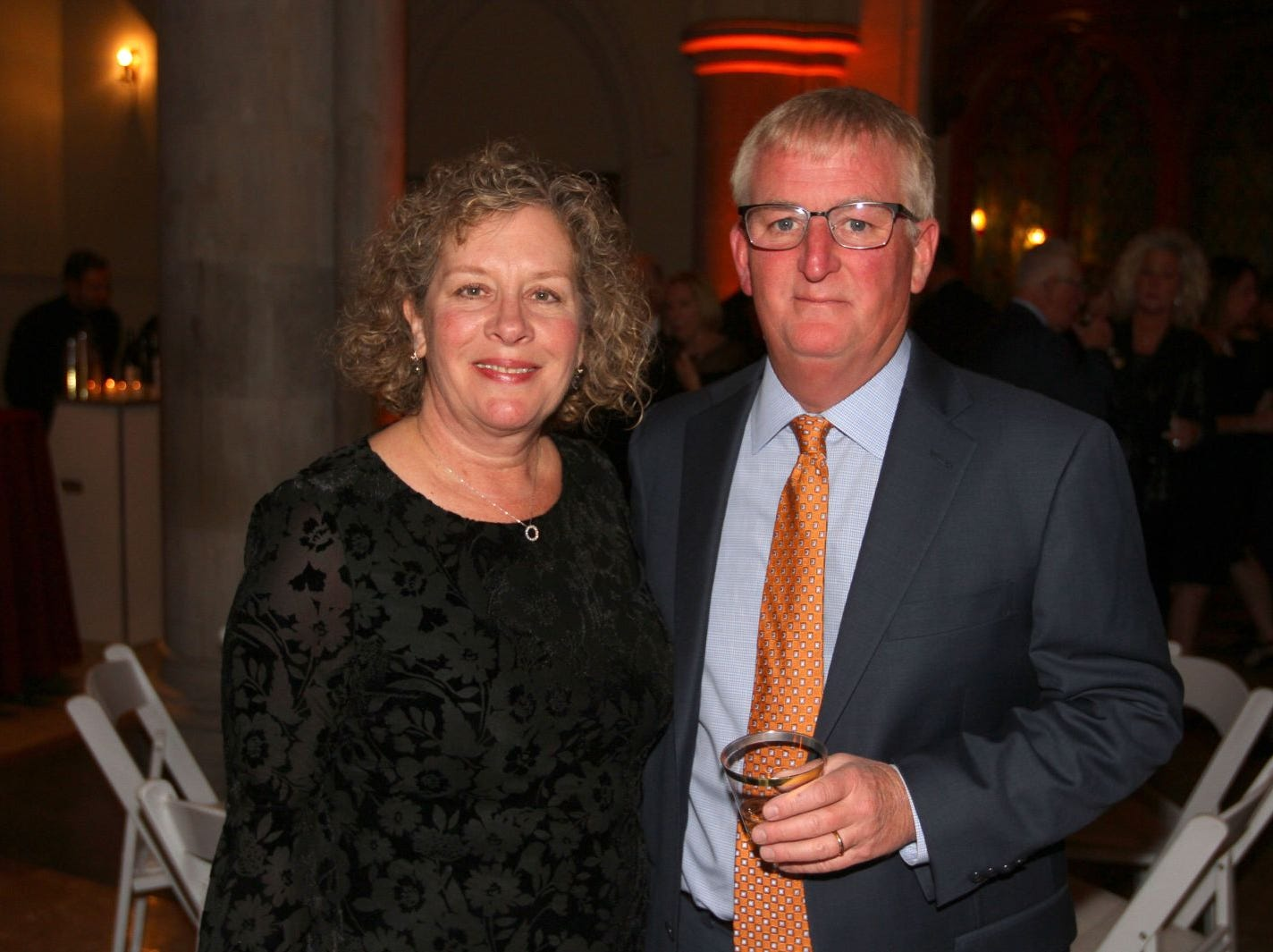 Beth and Doug Phelps. Wyckoff Family YMCA hosted its 75th anniversary gala to celebrate its benefactors, held at the Rio Vista seminary in Mahwah. 11/16/2018