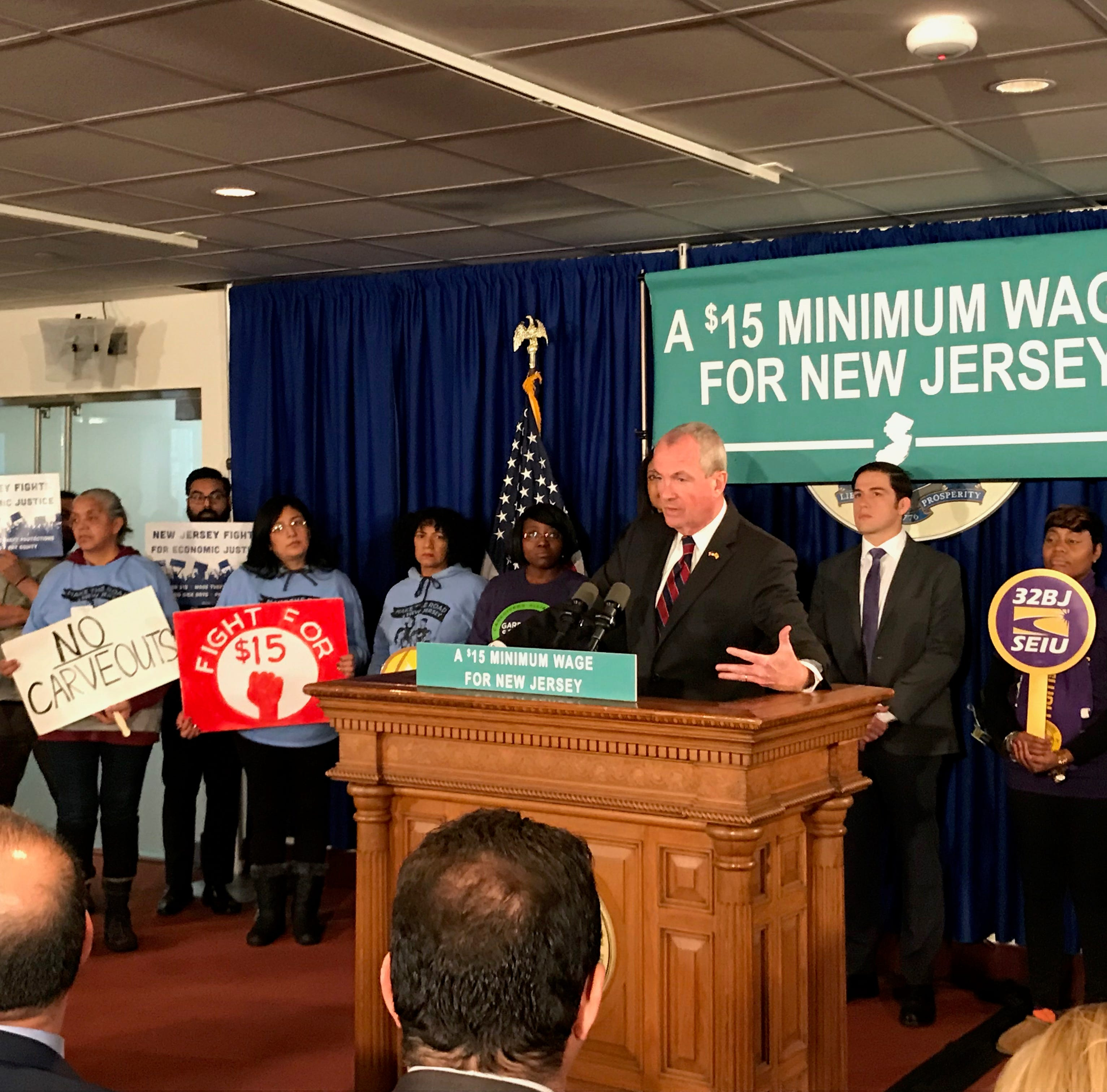 Deal reached to raise NJ's minimum wage to $15 an hour