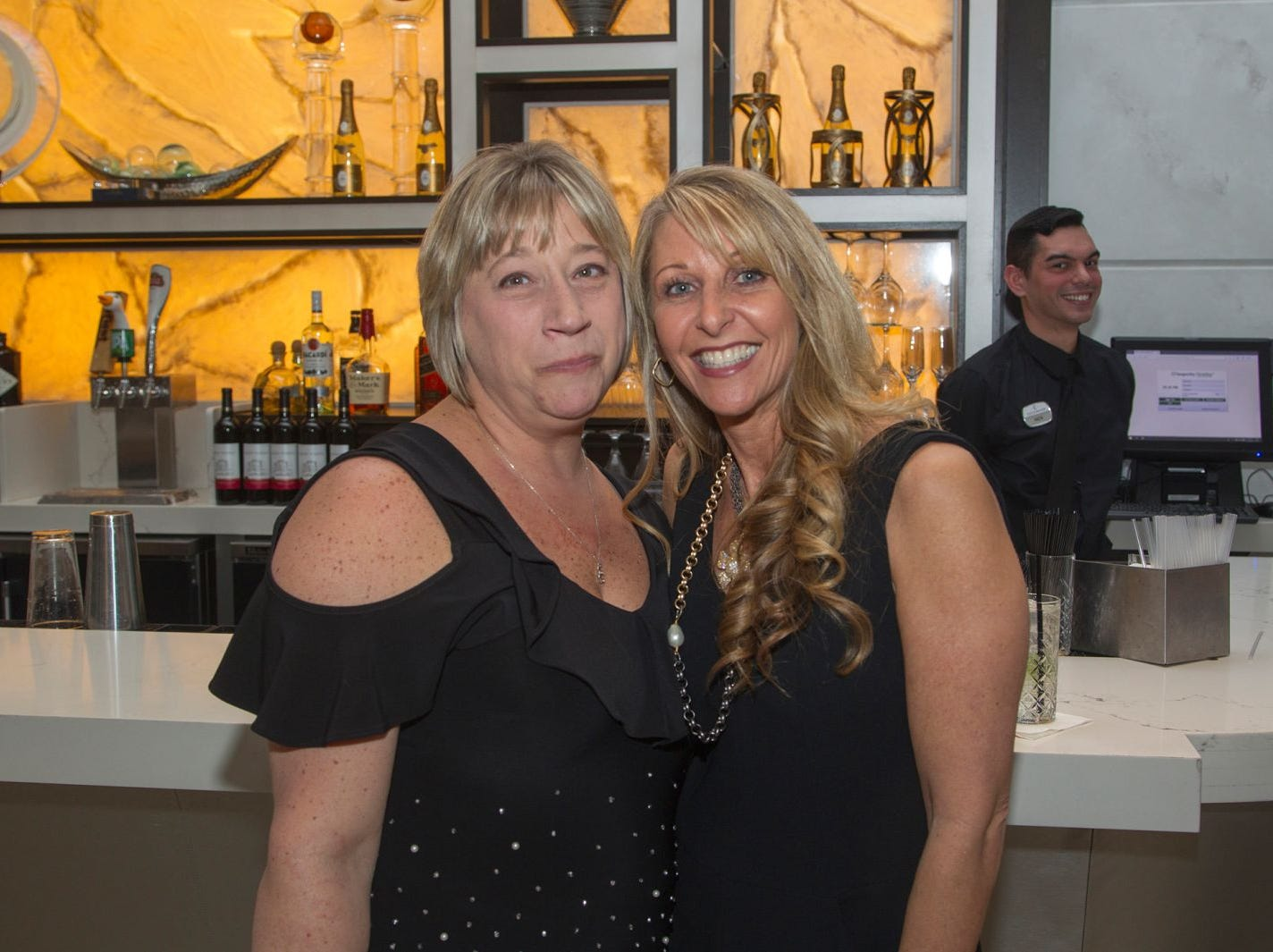 Jayne and Pam. Jewish Family & Children's Services of Northern New Jersey held its annual gala at the Edgewood Country Club in River Vale. The evening honored Shira Feuerstein, Jayne Petak, and Alan Scharfstein for their leadership, support, and dedication. 11/18/2018