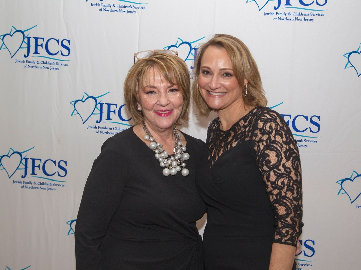 Susan Greenbaum, Debbie Harris. Jewish Family & Children's Services of Northern New Jersey held its annual gala at the Edgewood Country Club in River Vale. The evening honored Shira Feuerstein, Jayne Petak, and Alan Scharfstein for their leadership, support, and dedication. 11/18/2018