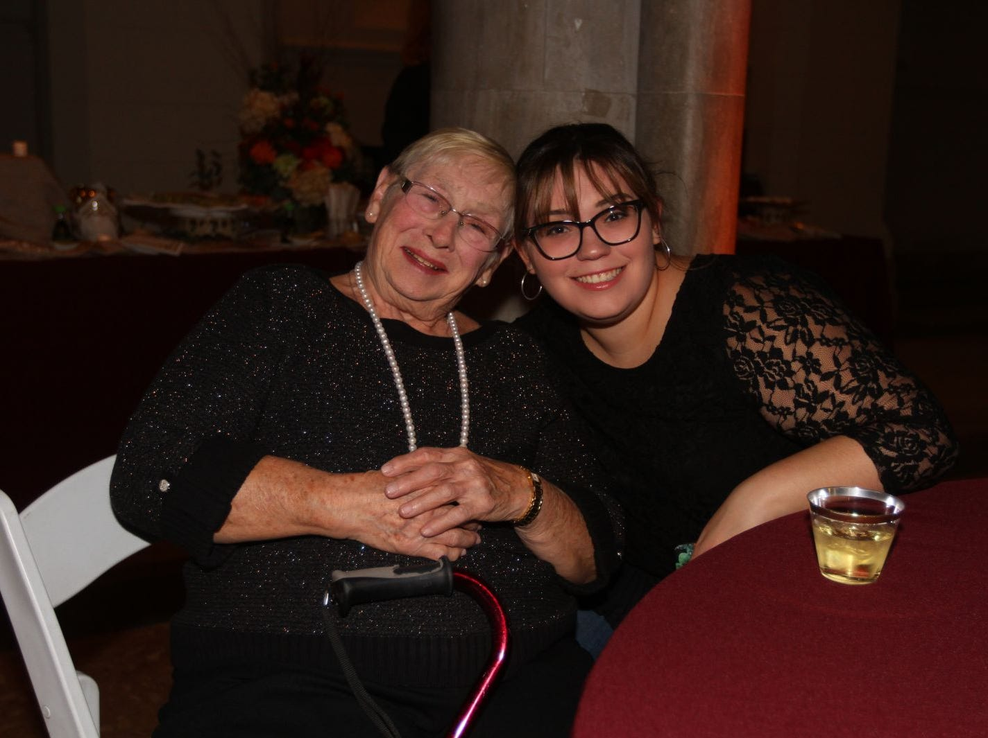 Dolores Clarke; Delanie Munro. Wyckoff Family YMCA hosted its 75th anniversary gala to celebrate its benefactors, held at the Rio Vista seminary in Mahwah. 11/16/2018