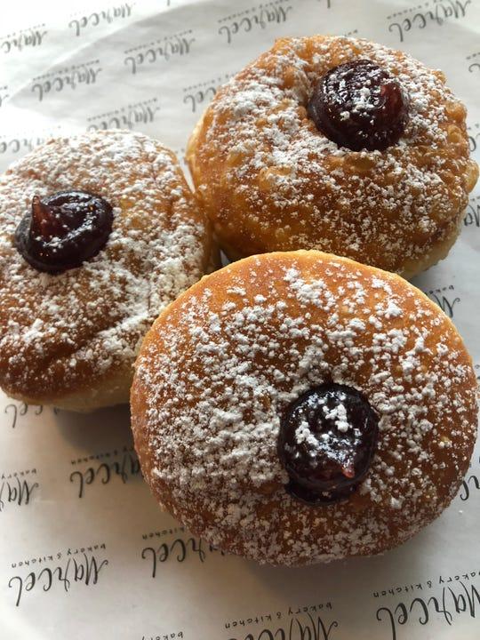 Marcel Bakery's sufganiyot for Hanukkah