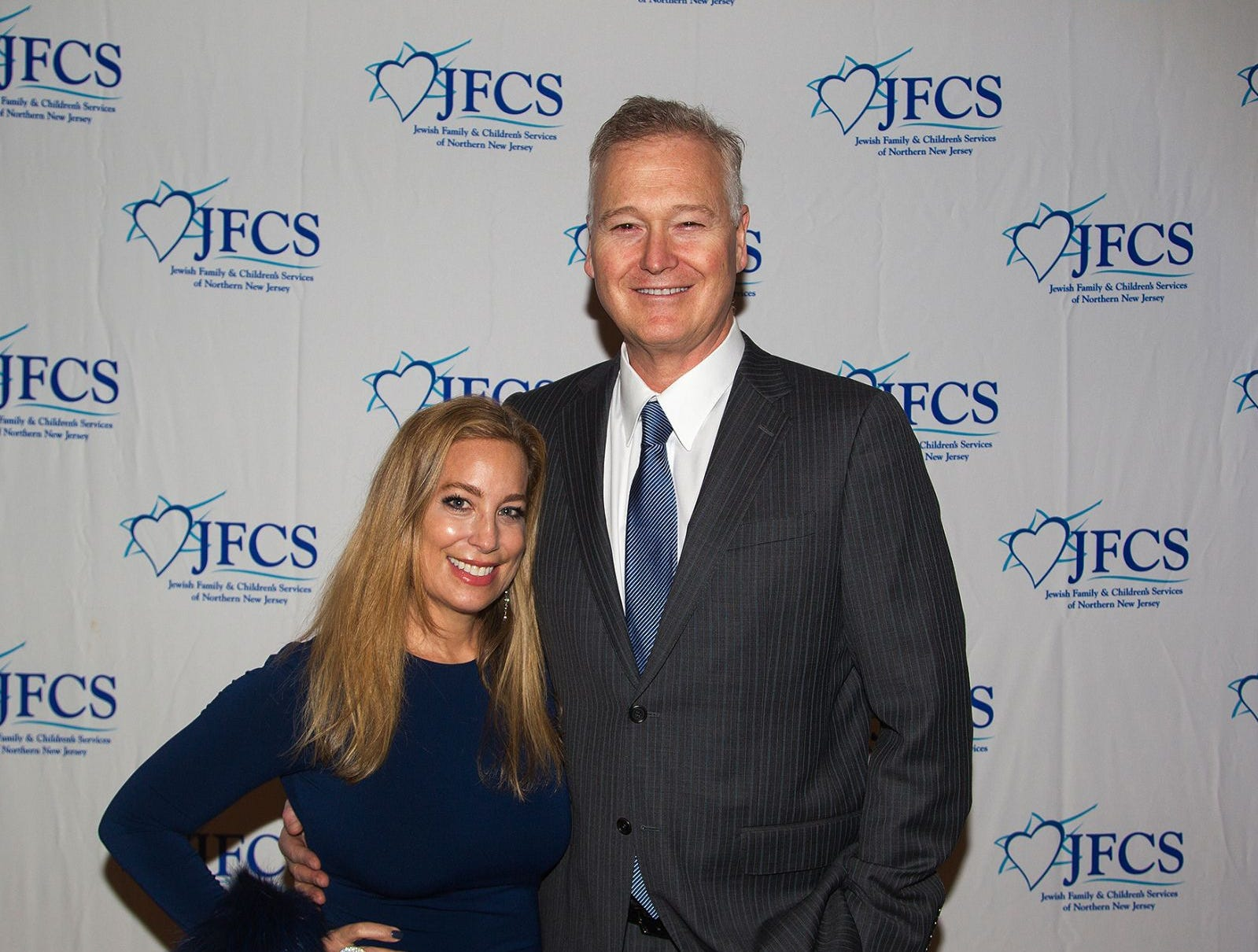Dana and Jim Adler. Jewish Family & Children's Services of Northern New Jersey held its annual gala at the Edgewood Country Club in River Vale. The evening honored Shira Feuerstein, Jayne Petak, and Alan Scharfstein for their leadership, support, and dedication. 11/18/2018