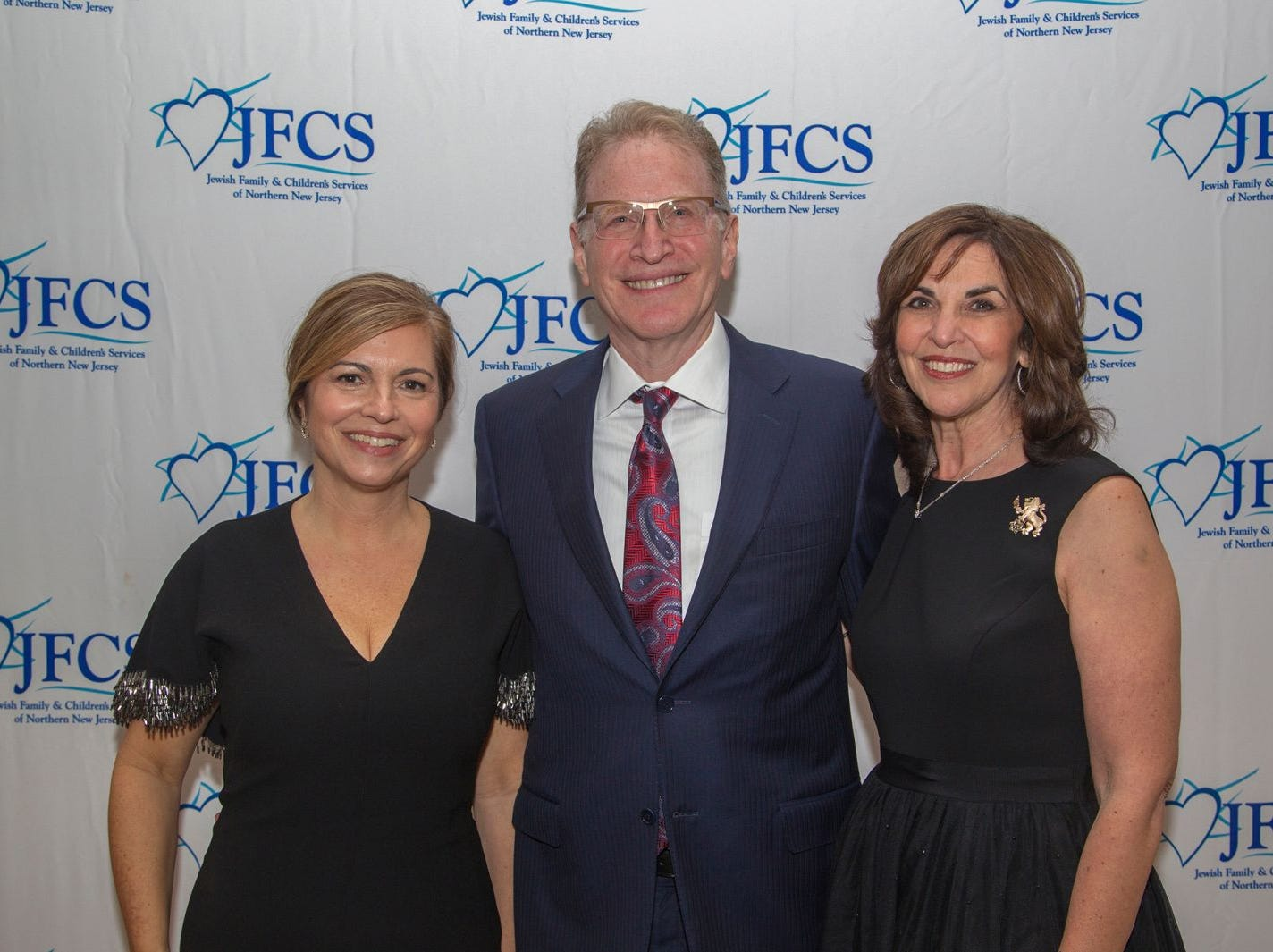 Honorees - Shira Feverstein, Alan Scharfstein, Jayne Petak. Jewish Family & Children's Services of Northern New Jersey held its annual gala at the Edgewood Country Club in River Vale. The evening honored Shira Feuerstein, Jayne Petak, and Alan Scharfstein for their leadership, support, and dedication. 11/18/2018