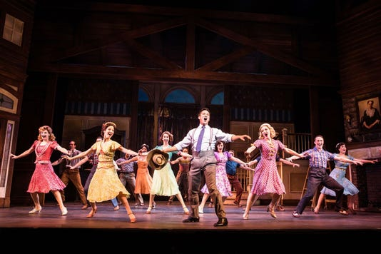 Irving Berlin S Holiday Inn At Paper Mill Playhouse Photo Evan Zimmerman For Murphymade