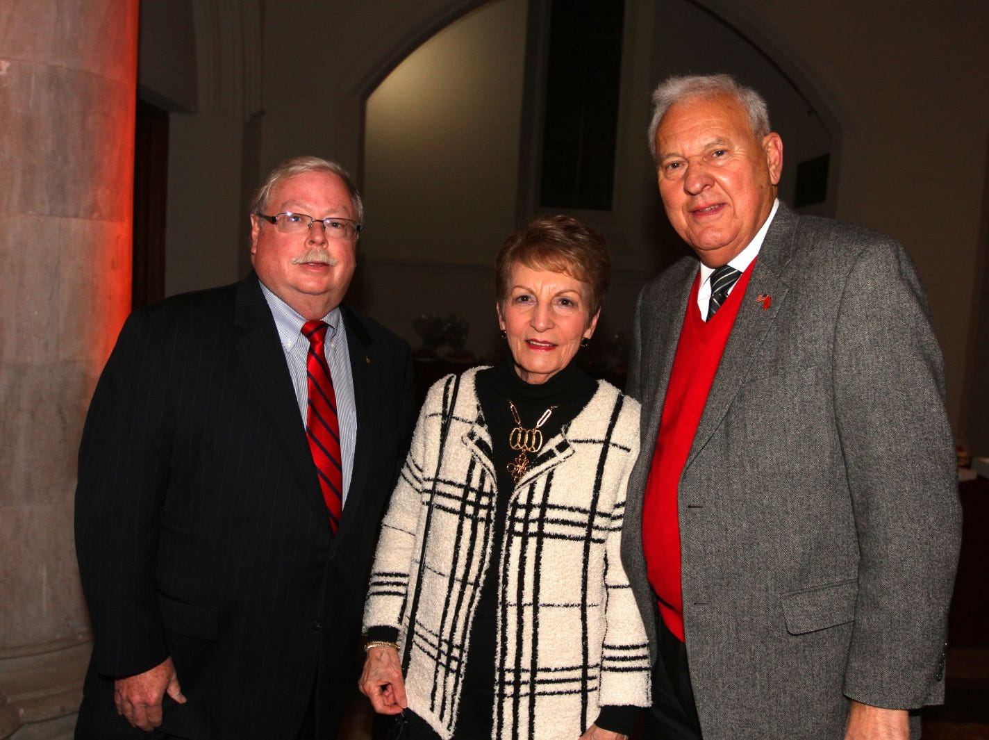 Tom Madigan; Lois Ciampo. Nick Ciampo. Wyckoff Family YMCA hosted its 75th anniversary gala to celebrate its benefactors, held at the Rio Vista seminary in Mahwah. 11/16/2018