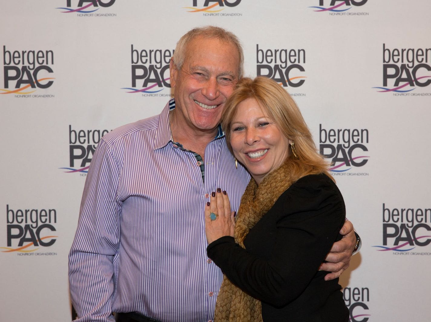 Marlene Cohan, Marc Reichman. BergenPAC held its annual fall gala featuring John Fogerty in Englewood. This year's honoree was Fernando Garip, from Wilmington Trust and M&T Bank. 11/08/2018